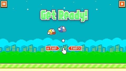 Flappy Bird PSP 2-1