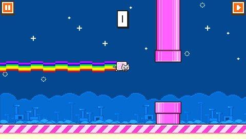 Flappy Bird PSP 2-3