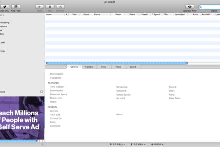 Cómo descargar archivos Torrent con ayuda de uTorrent