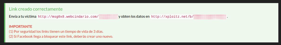link del hackeo
