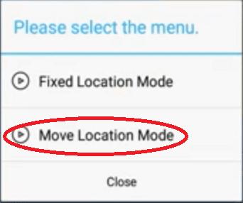 move location mode