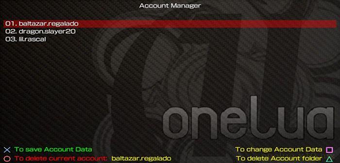AccountManager: La solución para tener más de una cuenta en PS Vita 3