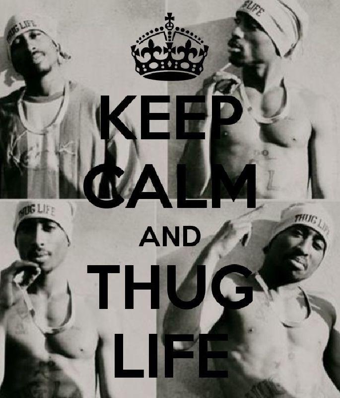tupac, thug life