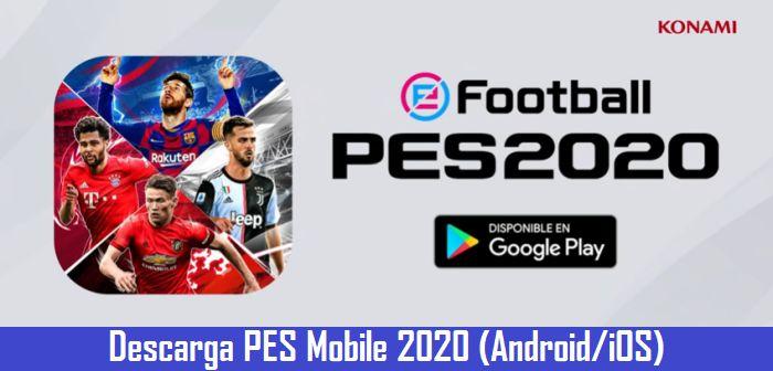 PES Mobile 2020 APK v4.0.2 para Android (noviembre 2019) 1