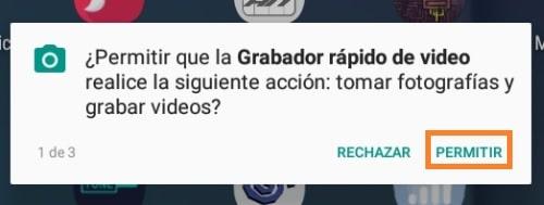 Grabar vídeo en Android con la pantalla apagada 4