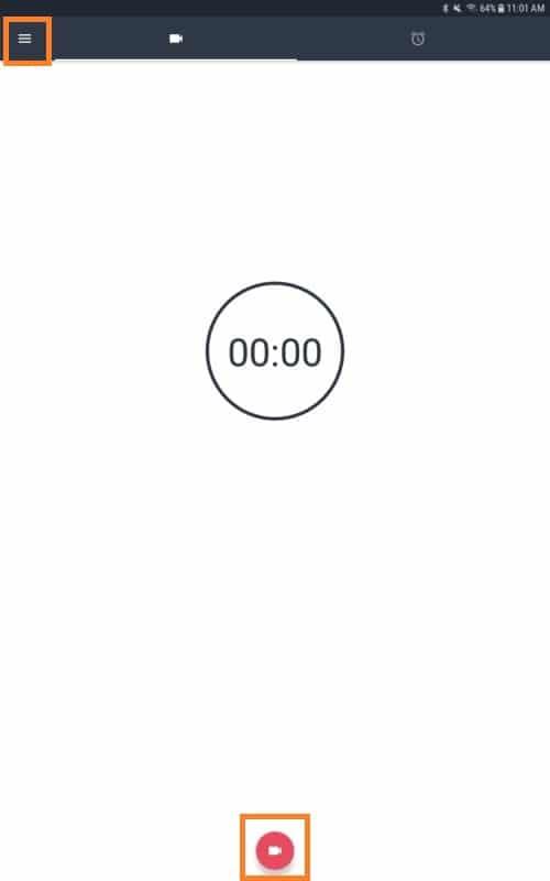 Grabar vídeo en Android con la pantalla apagada 5
