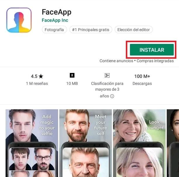 Cómo descargar y usar FaceApp 2