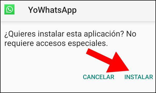 instalar app YoWhatsApp