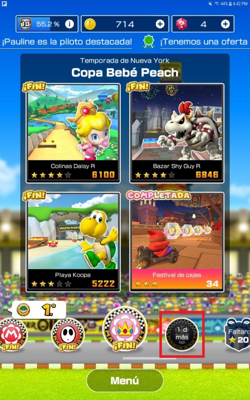 Mario Kart Tour para Android y iOS: Descarga v1.1.0 7