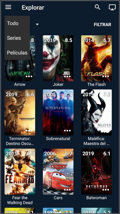 OctoStream: películas y series