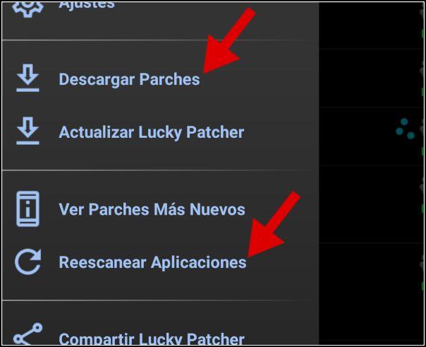 descargar parches para juegos en Lucky Patcher