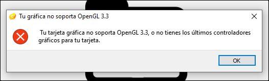 error OpenGL en Citra