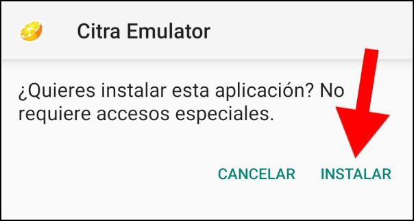 instalar Citra Android