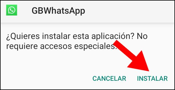 instalar GBWhatsApp