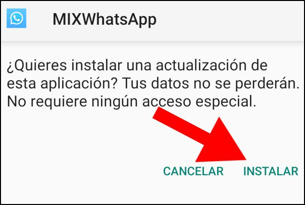 Instalar WhatsApp Mix