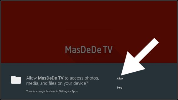 Masdede TV, permitir acceso multimedia