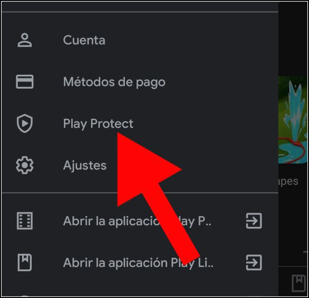 Play Protect en Play Store
