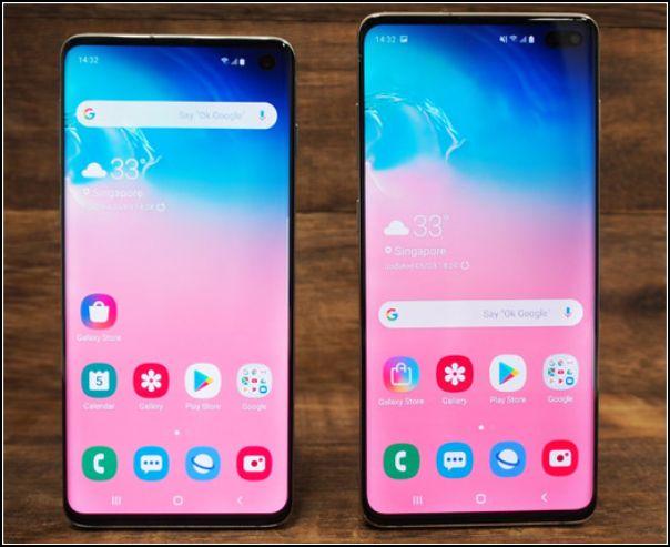 Samsung Galaxy S10 y S10 Plus