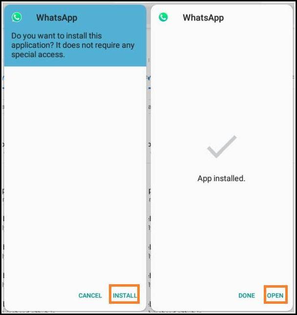 instalar WhatsApp Aero