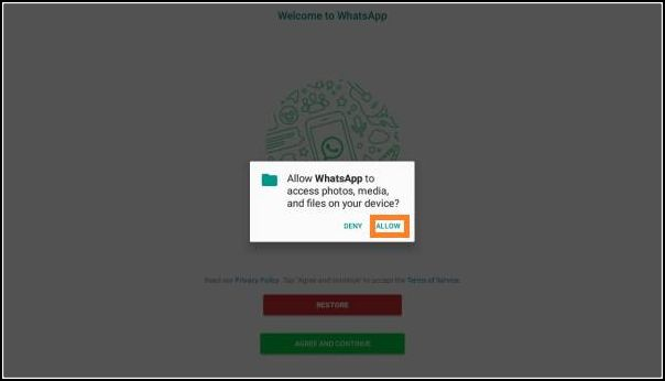 permitir instalación WhatsApp Aero