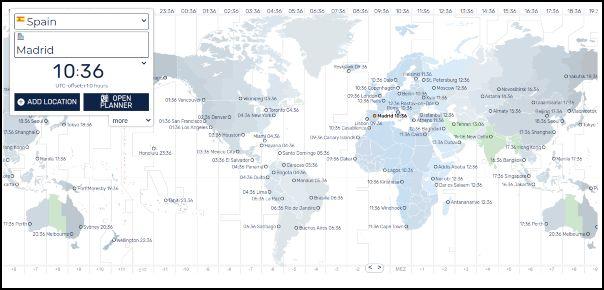 Reloj atómico, hora mundial
