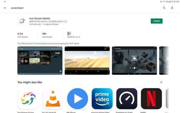 Arenavision en Google Play