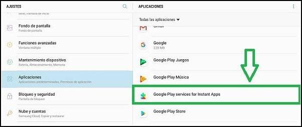 aplicación Google Play Services