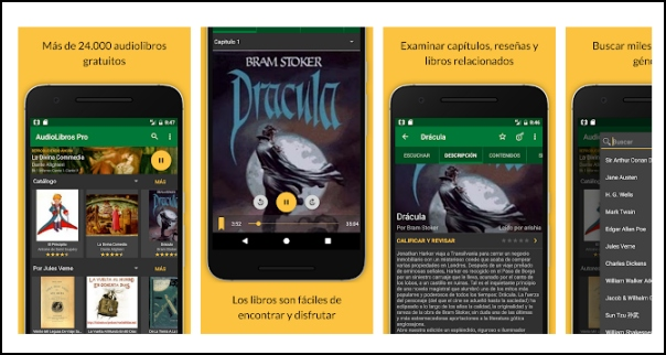 app audiolibros