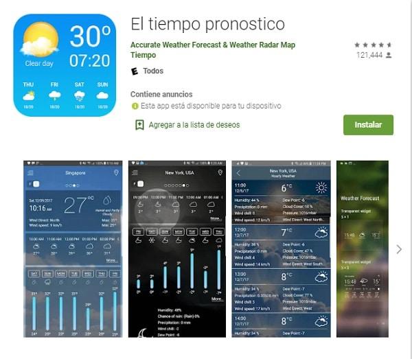Mejores apps para medir temperatura ambiente_el tiempo pronostico