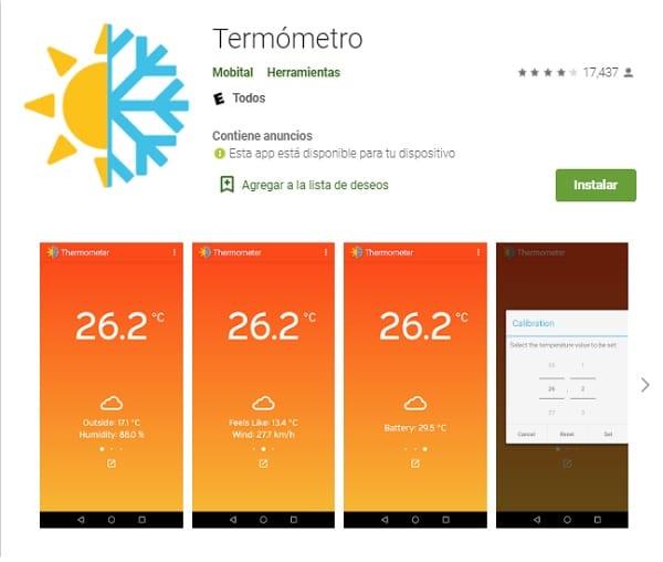 Mejores apps para medir temperatura ambiente_termometro